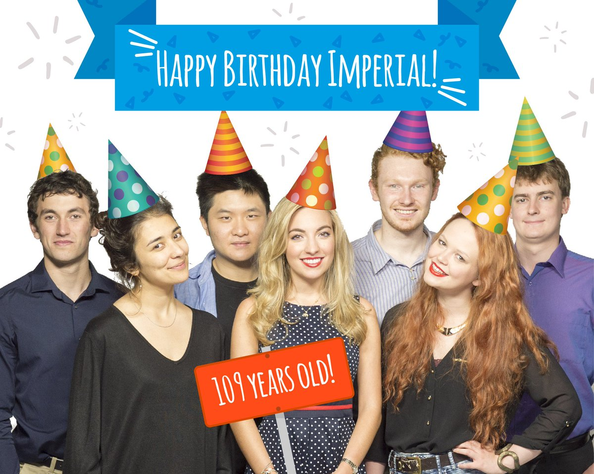 Happy Birthday @imperialcollege! Est. by Royal Charter by Edward VII on 8 July 1907, 109 years ago today!