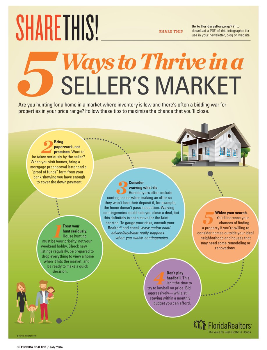 Share this: 5 ways to Thrive in a Sellers Market. See more at https://t.co/toOvnOJBev https://t.co/pRebvf0SIo