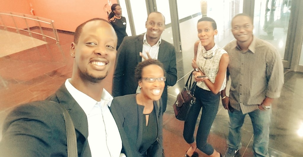 The gang appointed as the official #rwot are on site for the #kigaliconventioncenter #launch #kcclaunch #myafrica https://t.co/QxNvwlfyQ4