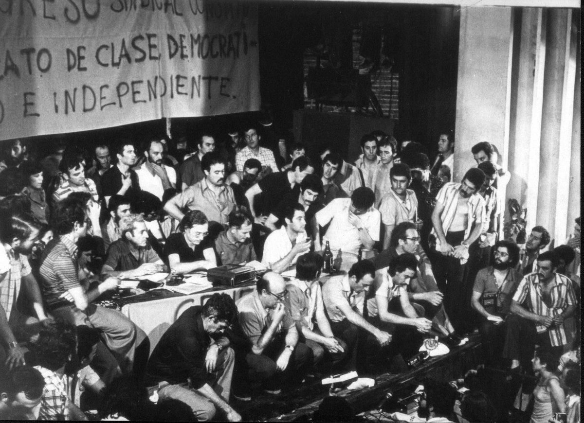11 de julio 40 Aniversario de la Asamblea de Barcelona CCOO. Conferencia @OwenJones84 #CCOOhaceHistoria https://t.co/LEckzRpccQ