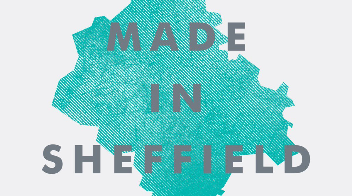 OPEN NOW - Made in Sheffield celebrates making & manufacture in our 21st century city: https://t.co/UkS7Q7GgUr https://t.co/ak0xuN1gNC