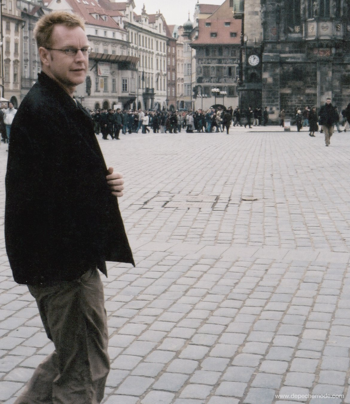Everyone wish a Happy Birthday to Fletch! Photo: Michaela Olexova, Prague, 2000. https://t.co/5S7ZWRkmNi
