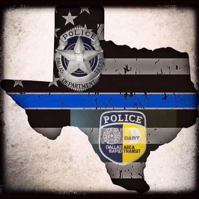 Our thoughts and prayers are with the friends and families of @DallasPD  #GoneButNotForgotten #ThinBlueLine https://t.co/3EEwhgzRhu