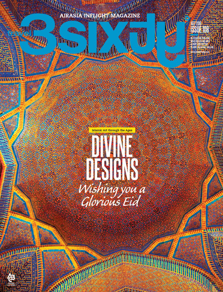 Still in a festive mood? Feed that wanderlust. Get your digital copy of travel 3Sixty° now!