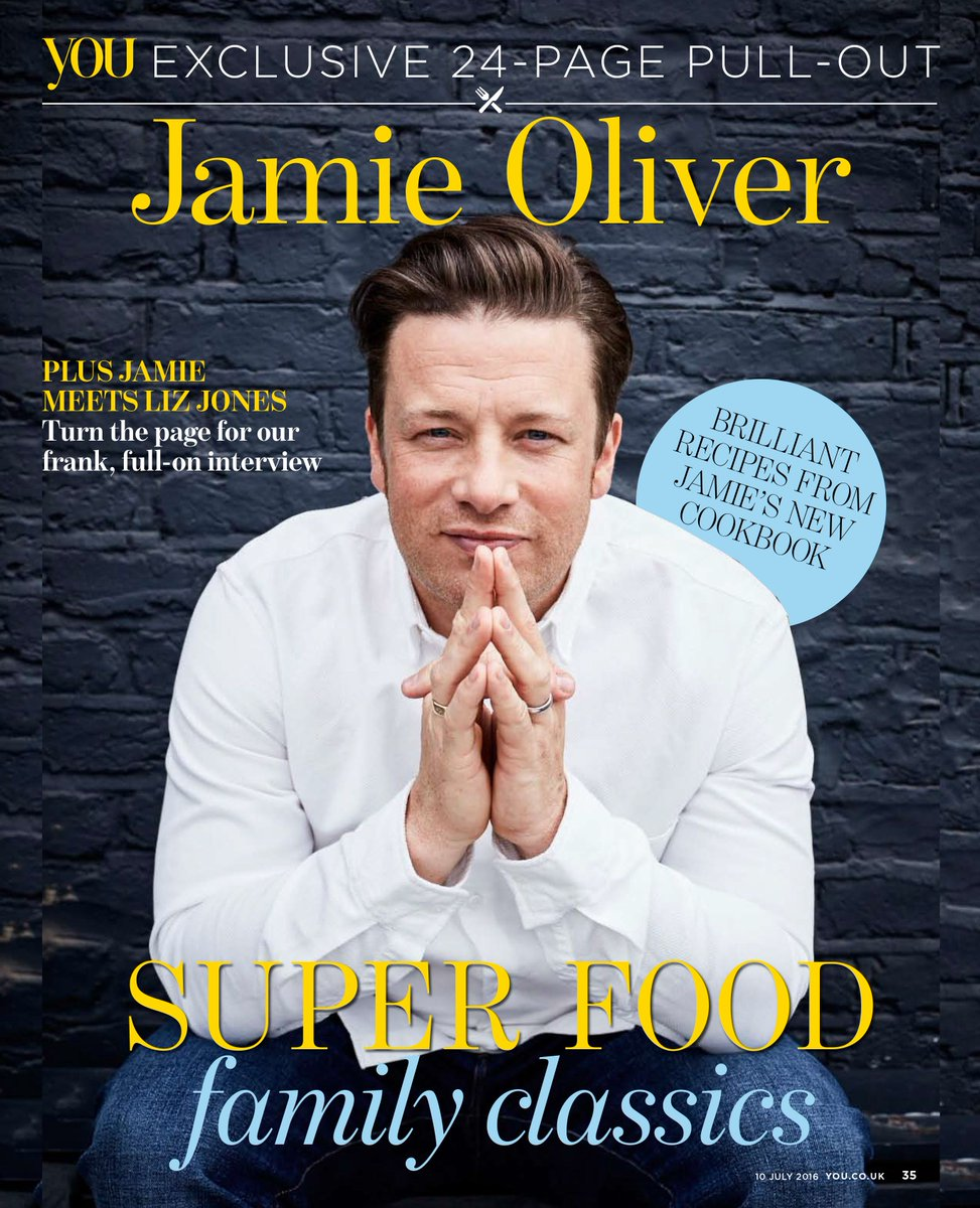 Check out Mail on Sundays @YOUMagSocial tomorrow for an exclusive preview of my new book Super Food Family Classics https://t.co/OcFc3ae3zz