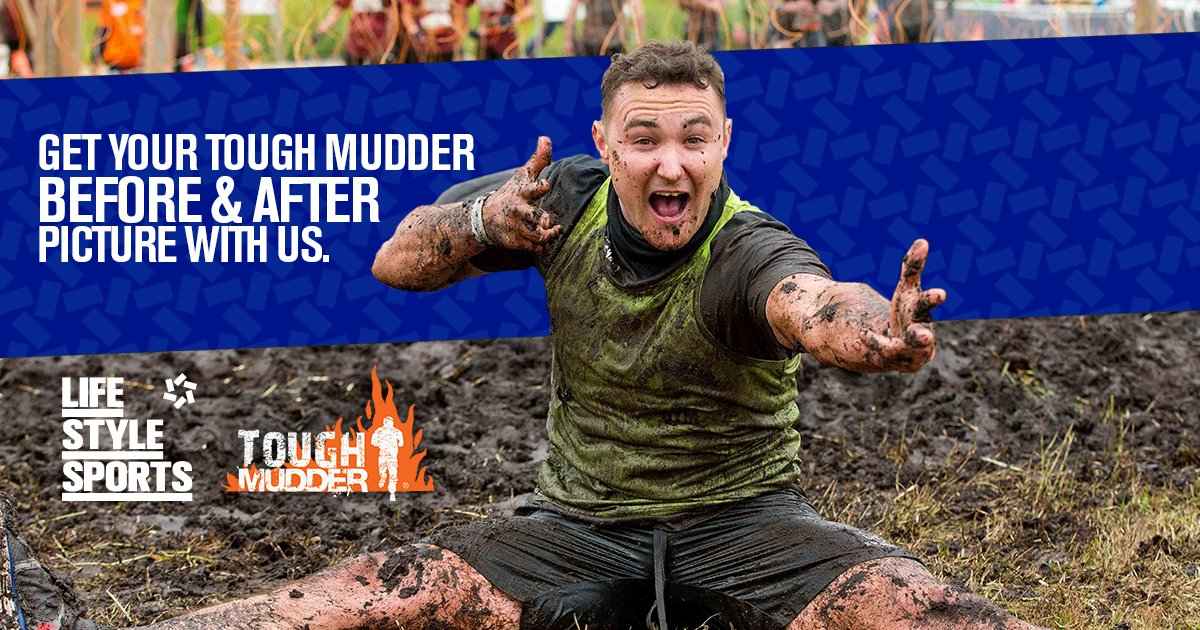 Share your muckiest #ToughMudder selfies with our team to capture you in all your awesome glory. #MyAwesome https://t.co/4IVWlCPXfb