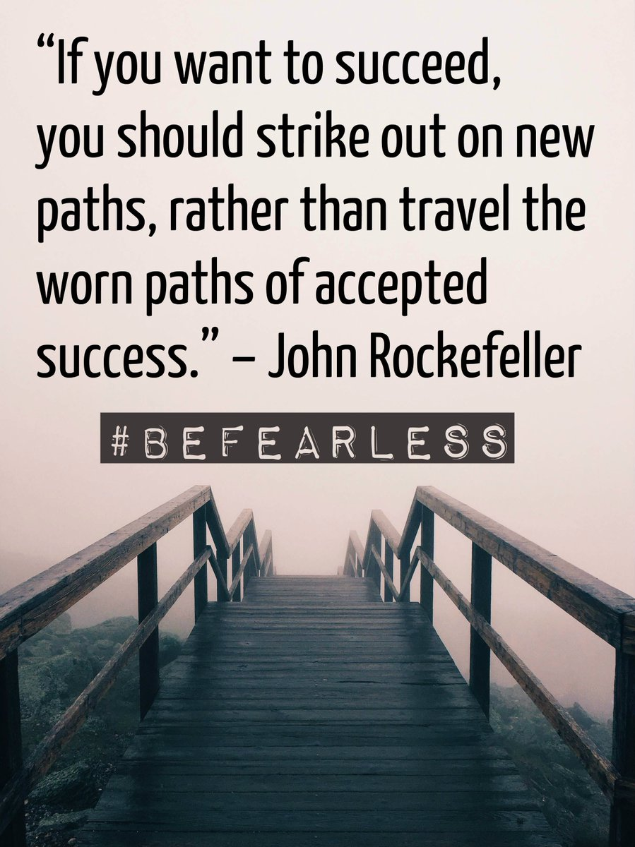 John Rockefeller was born on 7/8. Today, we share his #BeFearless words. #FearlessFriday https://t.co/5zewmWlNDz https://t.co/uHipahkgJh