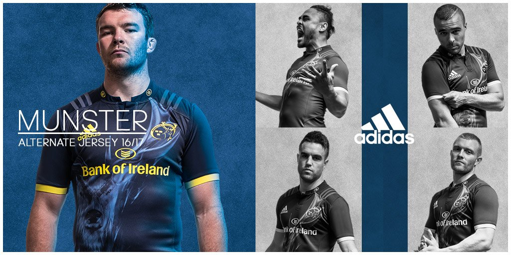 The Munster Away kids jersey is now availble from €55. Pre-order & they could meet the team https://t.co/WigA0XIx2g https://t.co/13z27oSrKx
