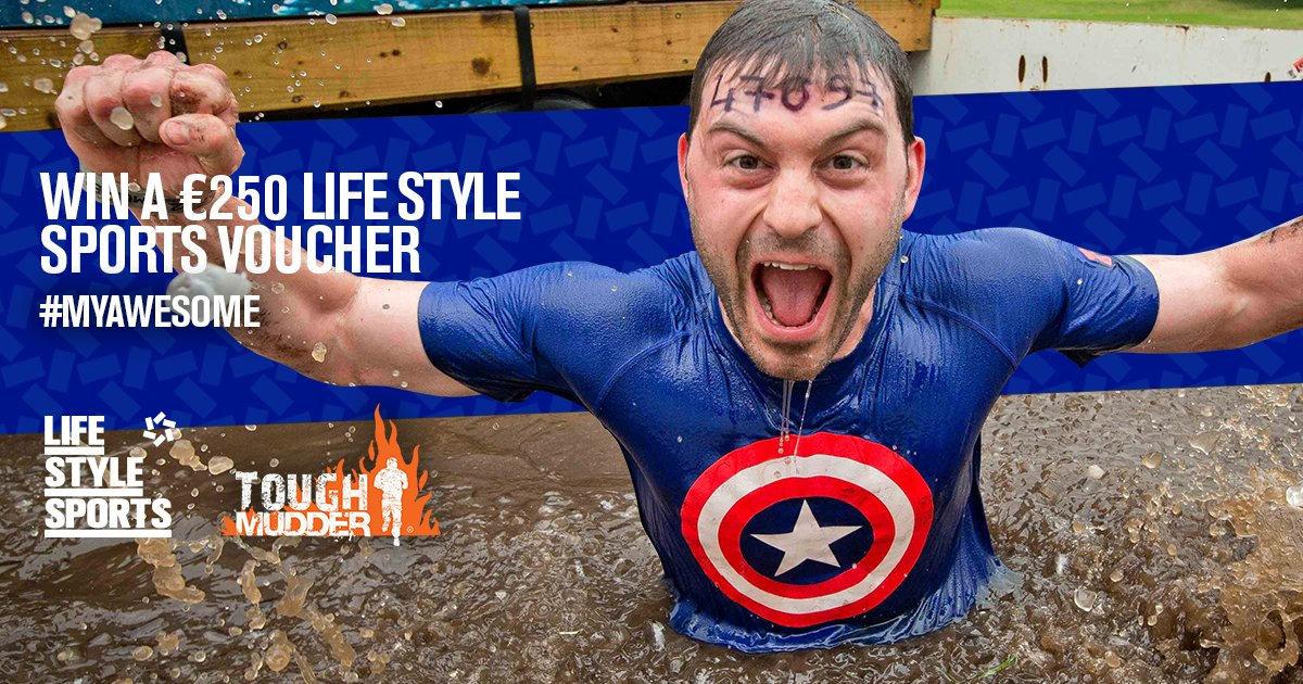 It's almost time for @ToughMudder. Head over to our F/book page to win prizes: https://t.co/MHC8bORdg6 #MyAwesome https://t.co/Ni8j0FZtc4