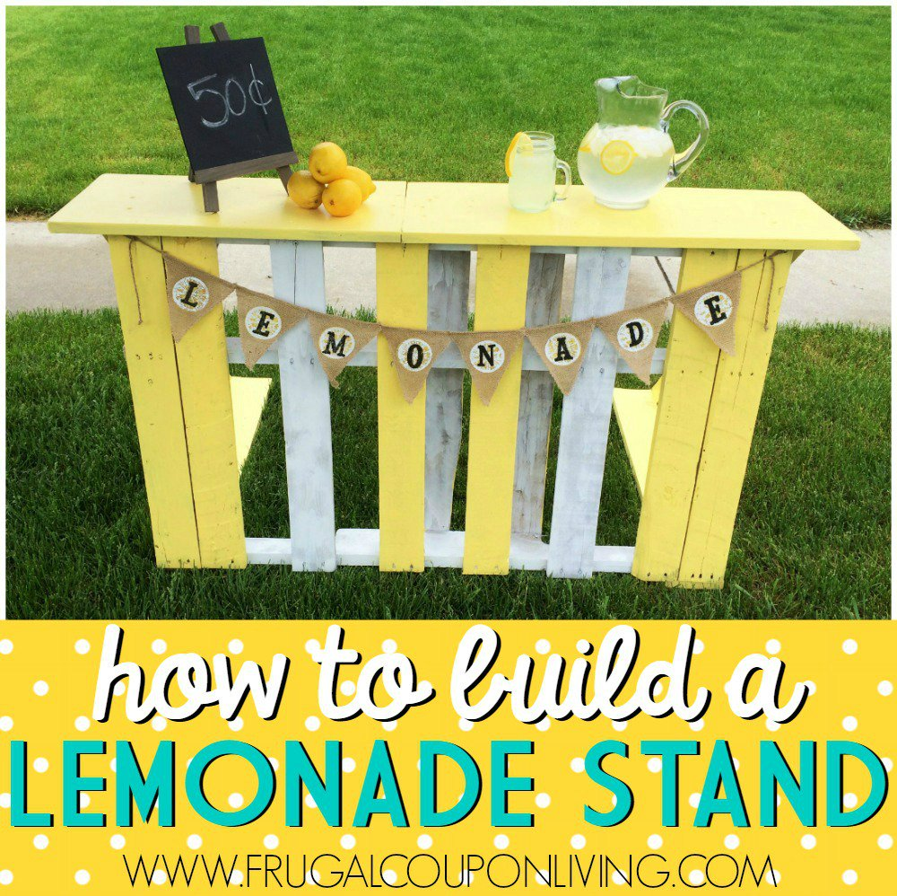 We had so much fun with this Pallet turned into a Lemonade Stand! #upcycle #lemonadestand https://t.co/Y9FsWxGgFE https://t.co/HKEwsRrbK4