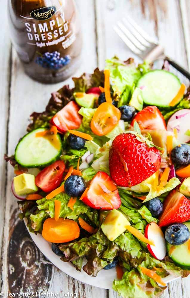 Ultimate Summer Salad: Made w/Marzetti Salad Dressing, veggies & fruit. It is so good! https://t.co/Req5QSf67o #Ad https://t.co/Xqjozjlbvn