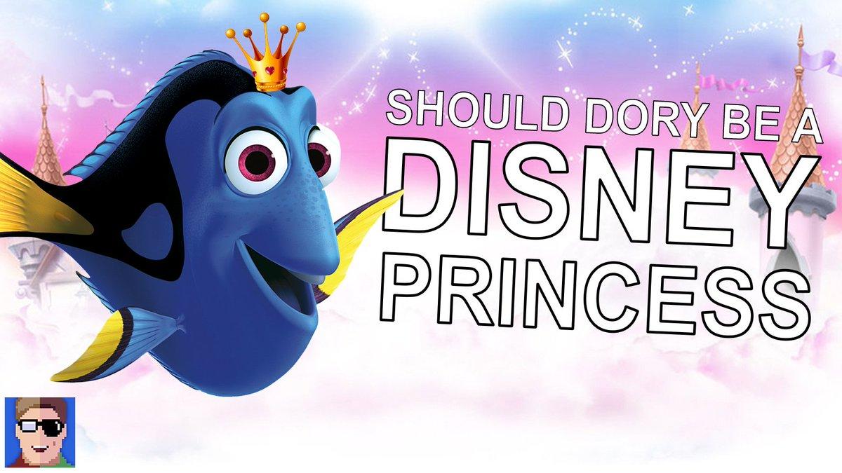 New Vid! Should Dory Be A Disney Princess? https://t.co/pO6JosKSUu @TheEllenShow #DoryIsAPrincess #Dory4Princess2016 https://t.co/dAJ4fMljRn
