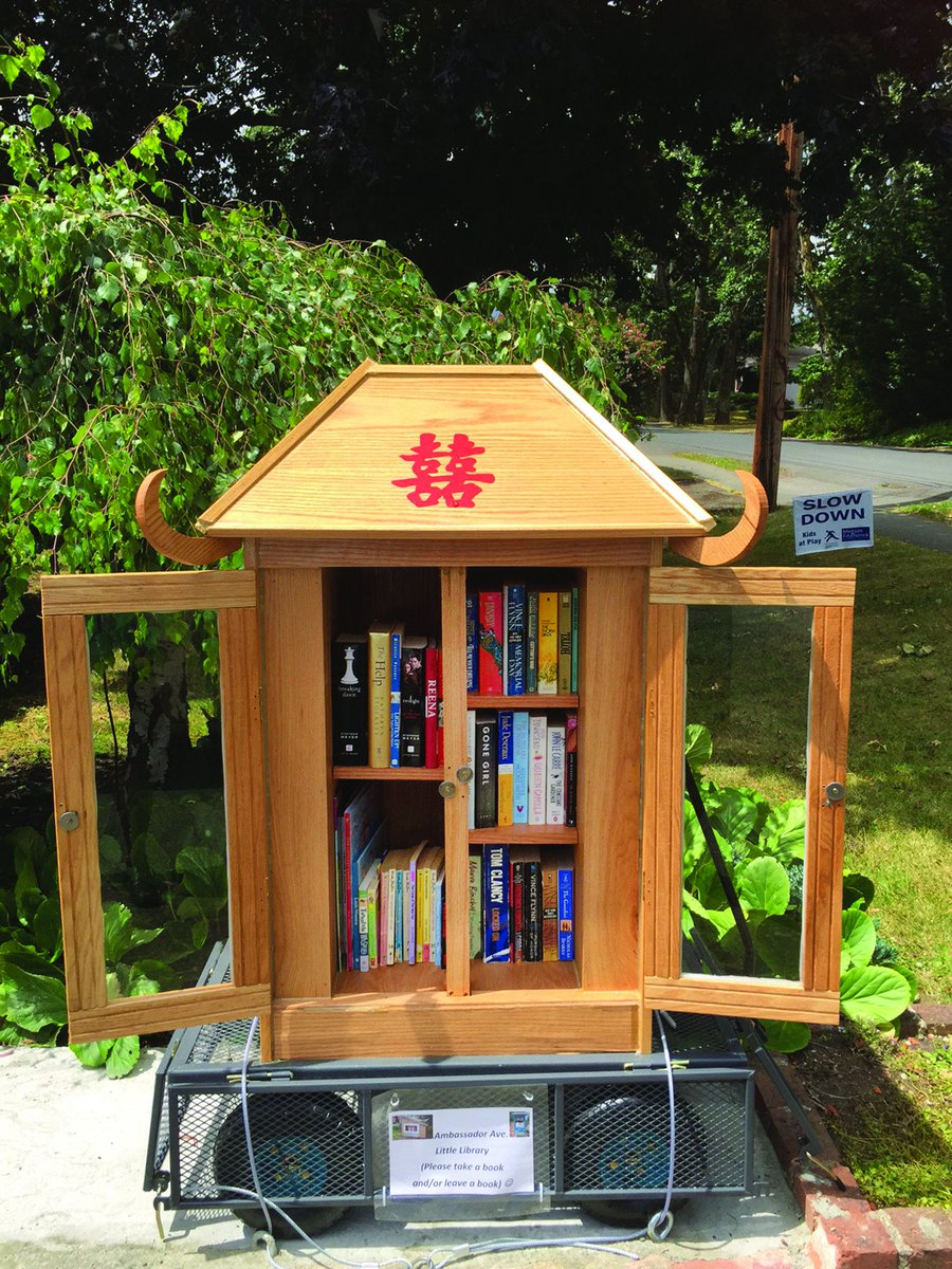 Group mapping little libraries around the capital region https://t.co/8KsX5HaXaT #yyj https://t.co/QVZ8gBZ1A5