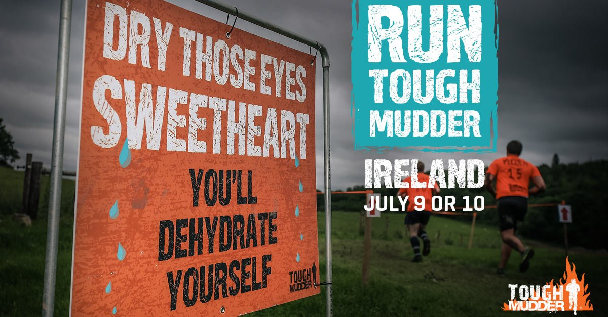 One more sleep until #ToughMudder. Any words of advice for us? #MyAwesome #Mucky #Wet #Endurance https://t.co/sYyRSazreX