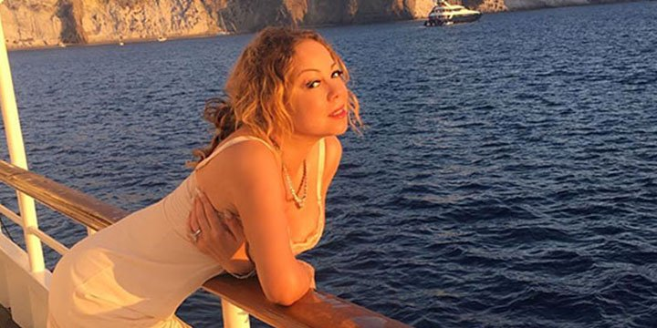 Mariah Carey's diamonds-and-lingerie-clad yacht photoshoot is truly next-level