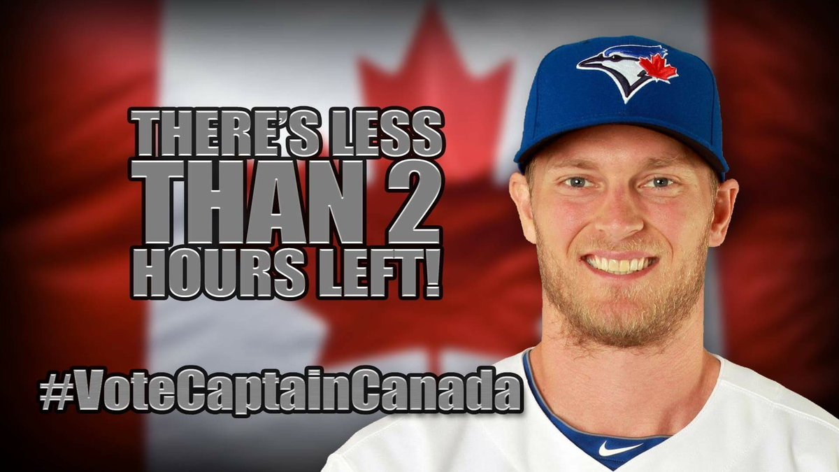 Hey you! (Yes, YOU!) Retweet this to get @BlueJays' Saunders into the @AllStarGame! 2 hours left! #VoteCaptainCanada https://t.co/Q7Wx6F5WwN
