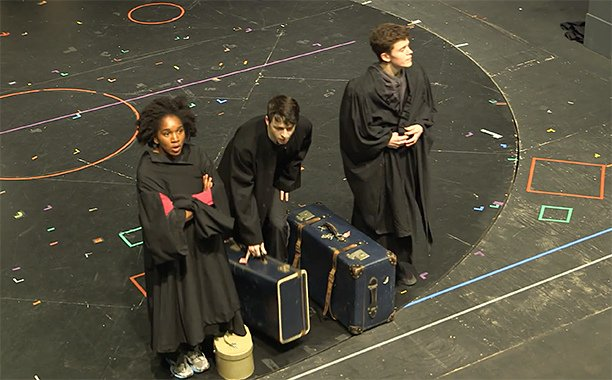 This 'Harry Potter and the CursedChild' video goes behind the scenes of the set: