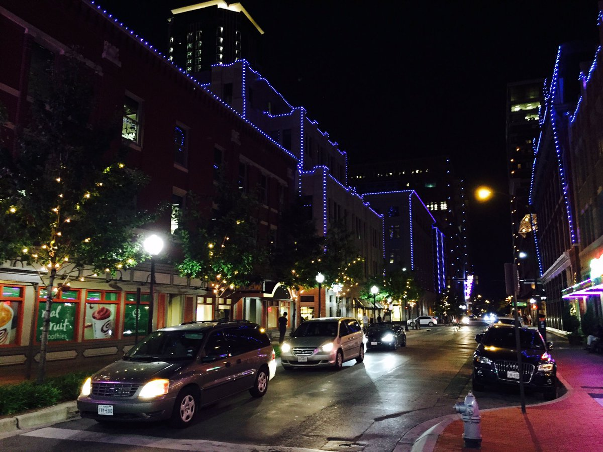 Buildings In Downtown Fort Worth Light Up In Blue To Honor The Fallen  Officers In The