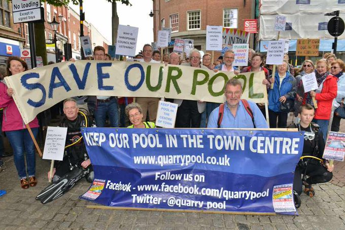 Shrewsbury 39 S Quarry Swimming Pool Consultation Extended Because Financial Figures Wrong