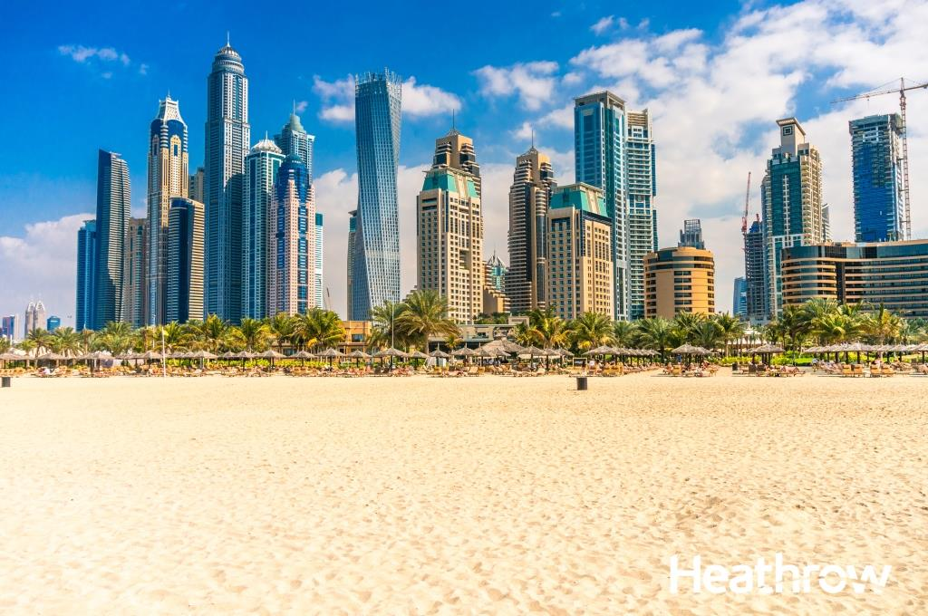 Fly to Dubai in luxury, with @qatarairways business class from £1000: