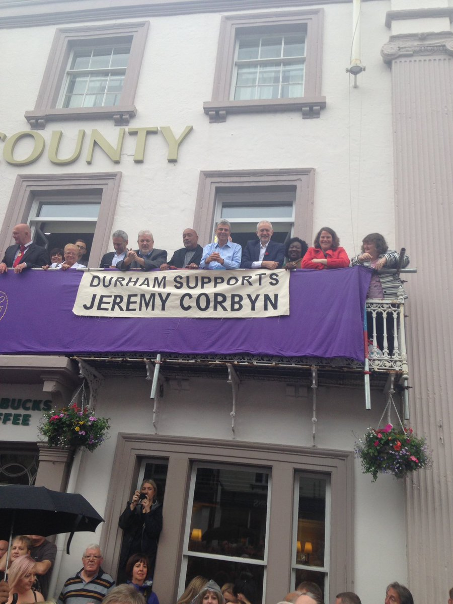 Durham supports @jeremycorbyn #KeepCorbyn #BigMeeting2016 https://t.co/T7KBYrJ7dD