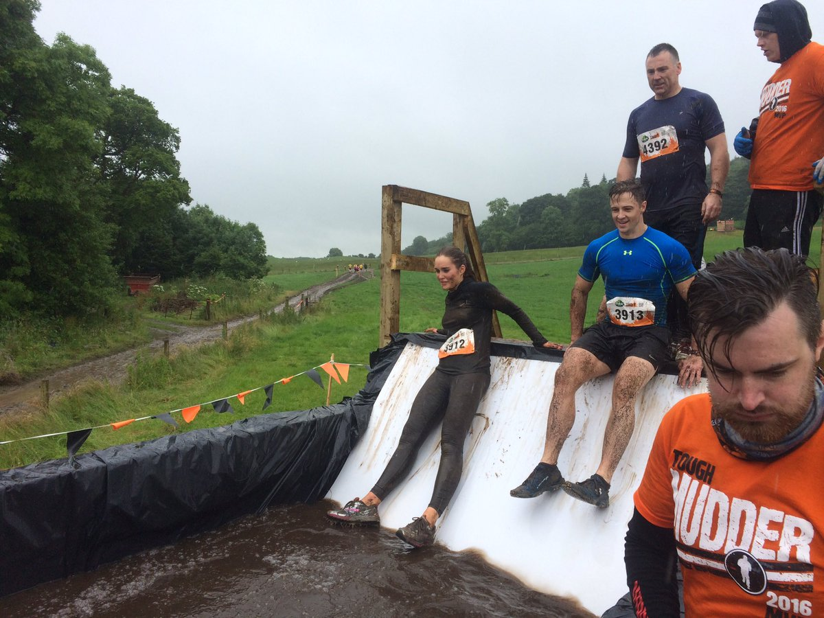 No doubt. @RozannaPurcell is one #ToughMudder. She nailed it. #MyAwesome #IceBath #Brrr https://t.co/LhriiISTK7
