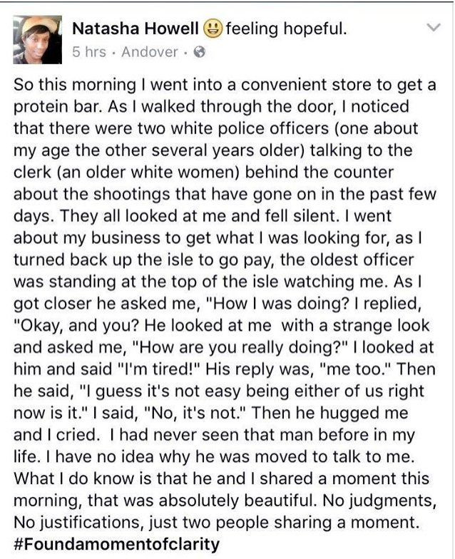 The original post seems to have been removed, but this screen grab has gone viral #NatashaHowell https://t.co/bwMHFYYmvG