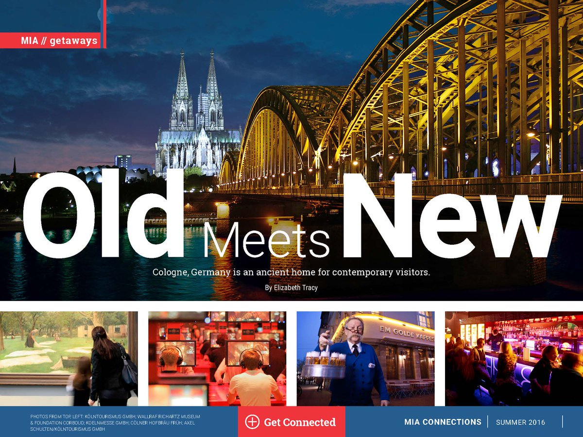 Cologne here we come! Learn more about one of Germany's oldest cities