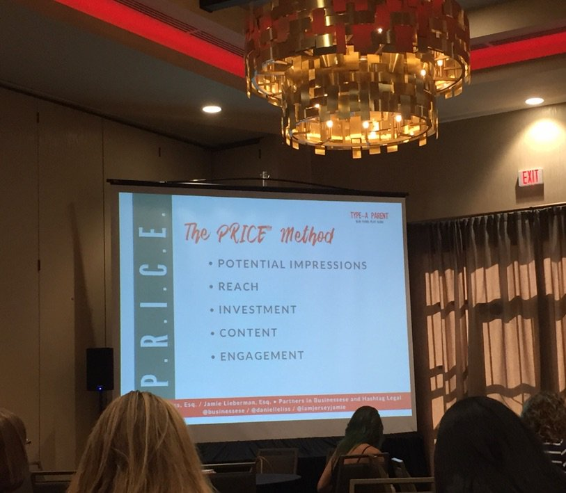 The PRICE method for setting your price #TypeACon https://t.co/qPQCHpkzFC
