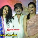 RT @cineloka: #DancingStar TV Show Press-Meet Snaps - 2  #CrazyStarRavichandran @priyamani6  @MayuriUpadhya  @ColorsKannadaTV https://t.co/…