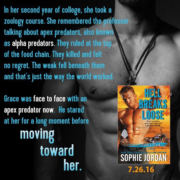 Flash Twitter #giveaway! Comment/RT for chance to win arc of #HellBreaksLoose *US mailing address pls @avonbooks GO! https://t.co/Iys3smjY9h