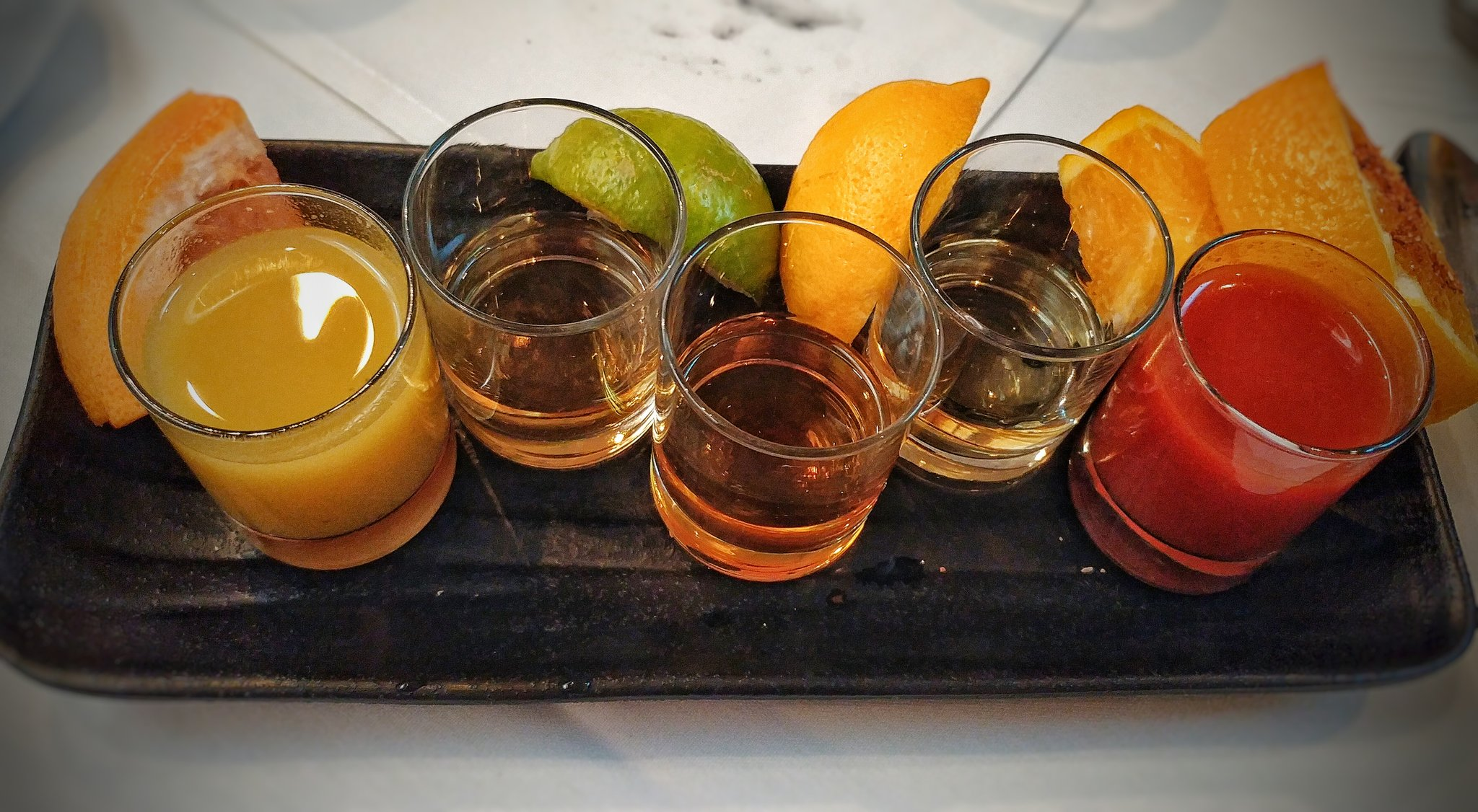 Tequila añejo flight is everything. #typeacon https://t.co/YGLZxt2x1u