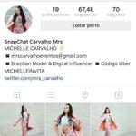 Chicos mi nuevo instagram es @mrs_carvalho #GranFinalVCTE ❤️???????????? https://t.co/0Gdr95z5qs