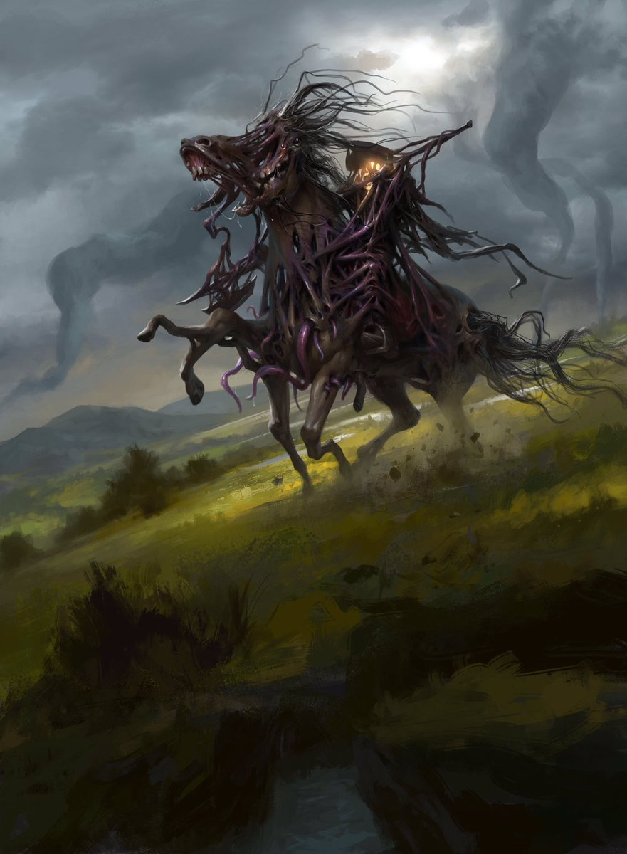 Pretty horsey from Eldritch Moon. #mtg #mtgemn https://t.co/I7QkAS14aq