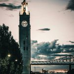 The clocktower in Montreals Old Port is simply divine. Picture by @simonlachapelle #montreal #quebec #canada https://t.co/SOyuhmfJqN