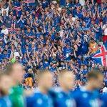 Se estima que hoy en el estadio había 18.000 islandeses, lo que corresponde al 6% de su población (aprox 320.000) https://t.co/q6F3c5d3go