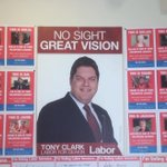 Labors candidate in Deakin, Tony Clark - who is legally blind - may have the best signs of #ausvotes https://t.co/c9sdHxZMfZ