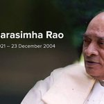 Humble Tributes to our Former Prime Minister, Shri. P.V.Narasimha Rao Garu on his Birth Anniversary! https://t.co/QKs50fTuRd
