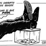 1/3 de españolxs vota por el #PP que es = a los recortes, la desigualdad y la corrupción. #EleccionesGenerales2016 https://t.co/5dVDXBubBn