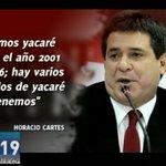 La desafortunada frase del Presidente @Horacio_Cartes ante la situación en el #Pilcomayo #RPC #NTE https://t.co/fRsDp8qFNg
