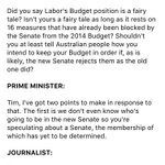 Heres the full context of the PMs comments about promises which Bill Shorten has seized upon #ausvotes https://t.co/er1cQee6e6