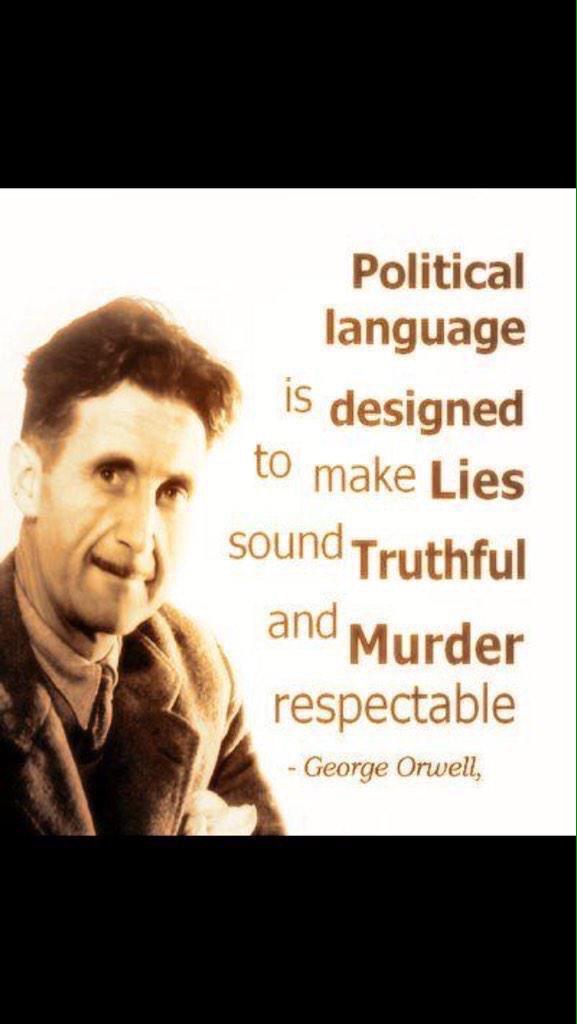 @georgeorwell RT @jojokejohn: Ain't that ever the truth https://t.co/2tnV9cJUFn