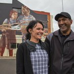 Meet the couple behind one of the latest #Toowoomba murals. https://t.co/7YzeHwI9RX #streetart https://t.co/wBAbgNTrrr