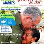 #GobiernoAlDia362 hoy con @rangelgomez porque todos tienen derecho a estar bien informados https://t.co/eeGsT4KT8h