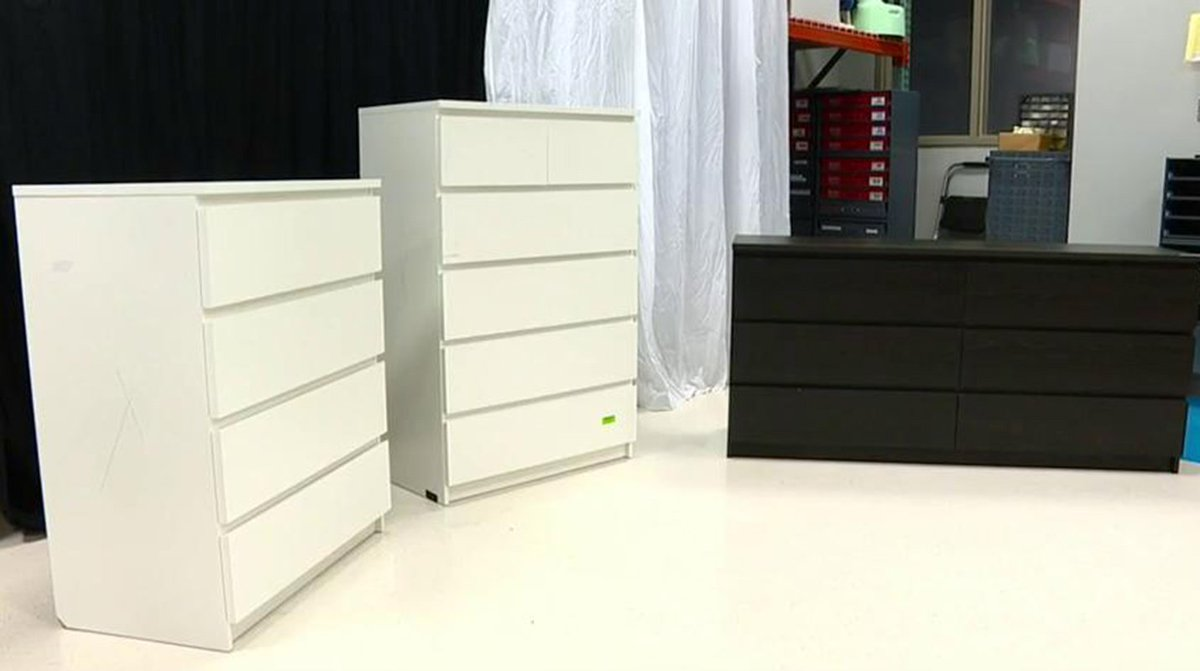 RECALL ALERT: Ikea recalls 29 million dressers and chests after 6 children crushed to death.
