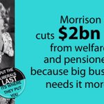 Turnbull govt plans to crack down on welfare and pensioners https://t.co/HxSjGeWX1r #auspol #ausvotes #abc730 https://t.co/3S6gVilrTC