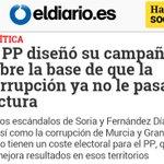 El PP diseñó su campaña sobre la base d la CORRUPCIÓN y NO le PASA FACTURA??? https://t.co/uV1qJEiWqY https://t.co/enF5NbFERH