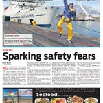 On our front pages today #PeoplesPost #FalseBay #CapeTown https://t.co/IyknSkKQxe