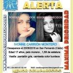 #Colabora Ivonne es una #menor que ha #desaparecido en San Fernando #Cádiz  Si la ves llámanos 📞062 📞112 Dale RT https://t.co/Afho2kGy8I
