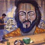 #Napoli, Via Ferrante Imparato Nella notte nasce il #murale che saluta #BudSpencer https://t.co/ghaMilQHwX